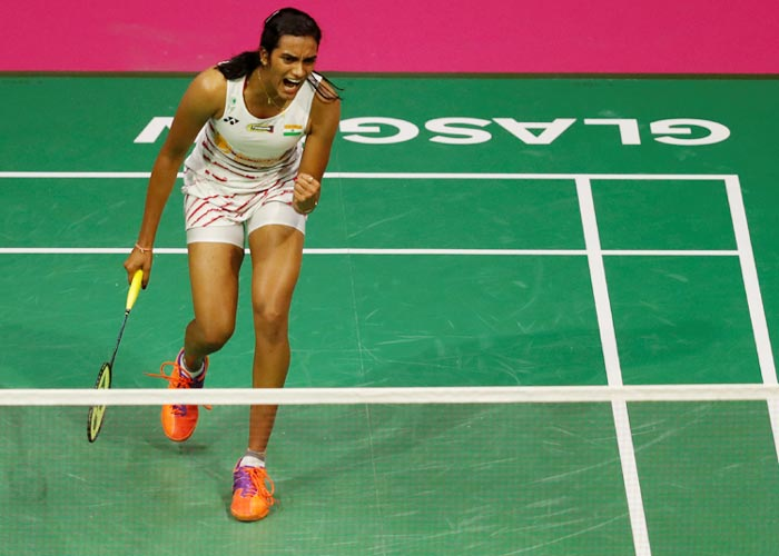 Rediff Sports - Cricket, Indian hockey, Tennis, Football, Chess, Golf - Sindhu settles score with Okuhara, wins Korea Open