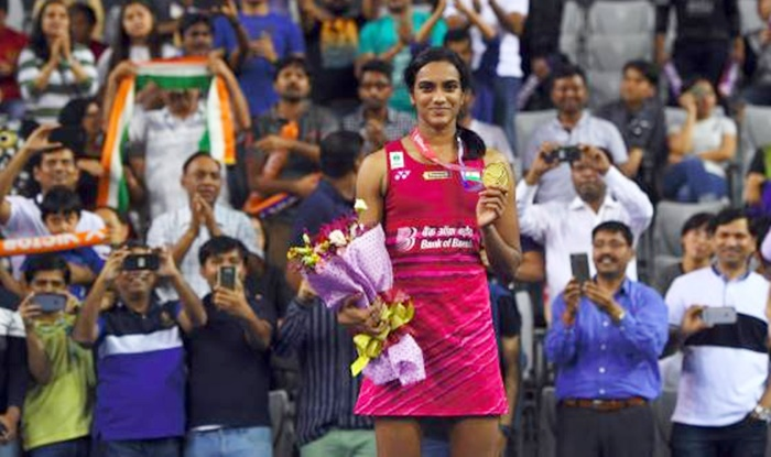 Rediff Sports - Cricket, Indian hockey, Tennis, Football, Chess, Golf - Congratulate PV Sindhu on her triumph!