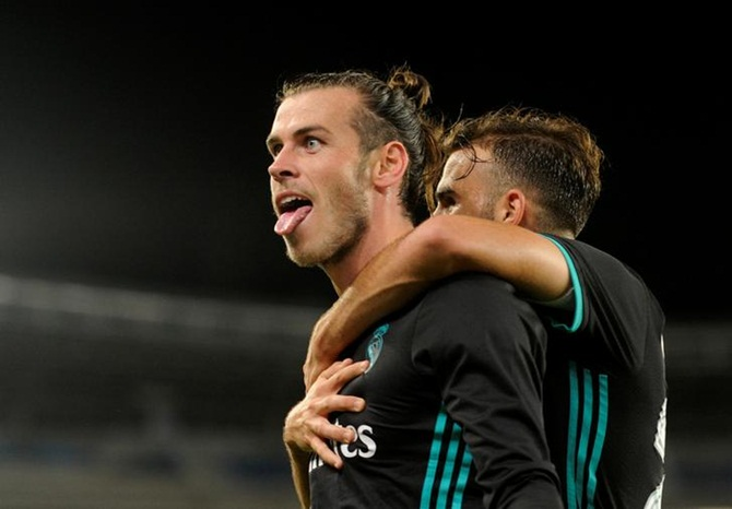 Rediff Sports - Cricket, Indian hockey, Tennis, Football, Chess, Golf - Real Madrid ease past Sociedad to overcome league blip