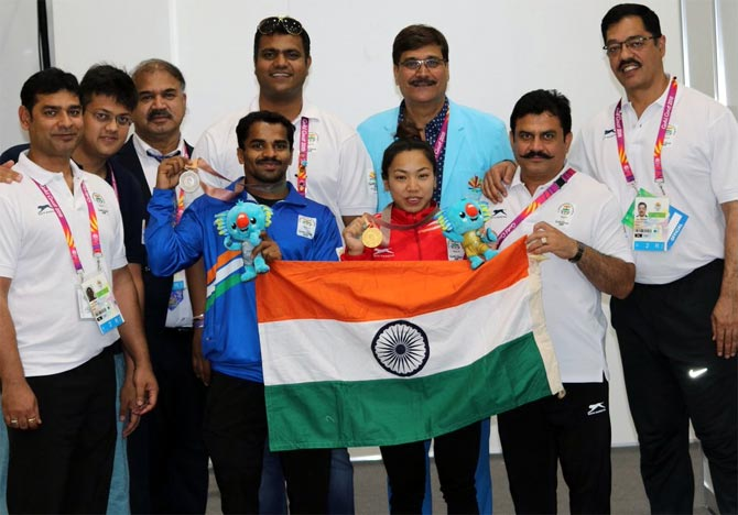 No physio, no problem for Indian lifters!