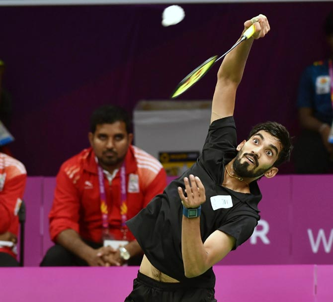 India whip Sri Lanka, Pakistan in badminton team event