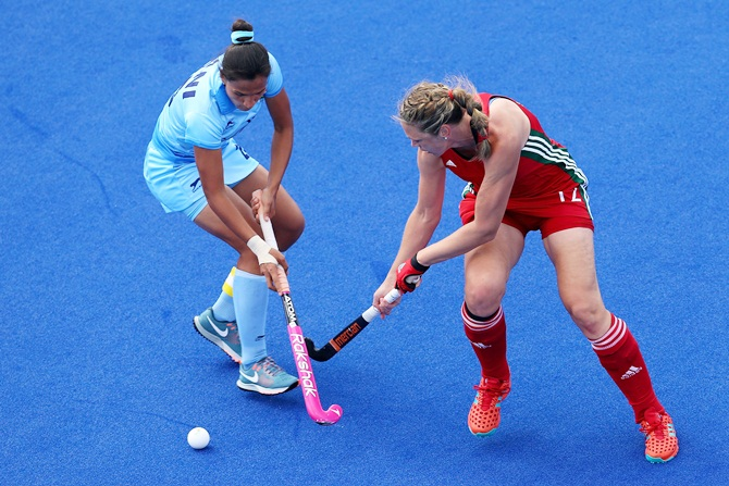 Indian women lose to Wales in CWG hockey opener