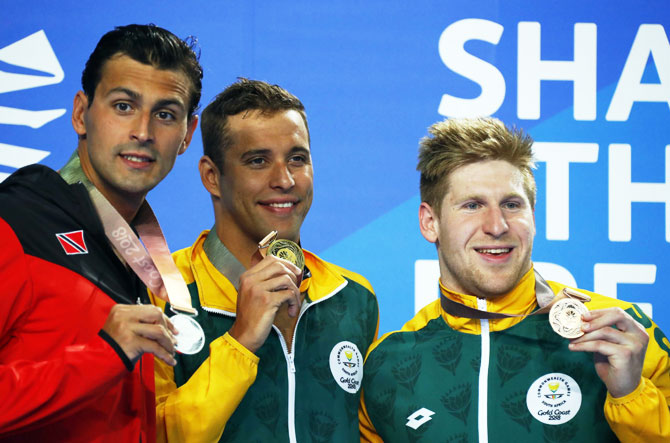 CWG: Le Clos bid for medal record falls short, this time
