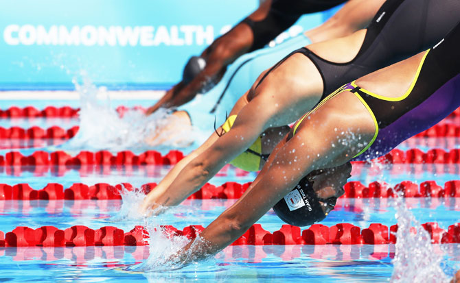 PHOTOS: EXCITING Moments from Day 2 of the Gold Coast Commonwealth Games