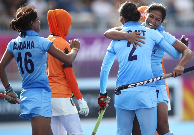 CWG Hockey: India women trounce Malaysia