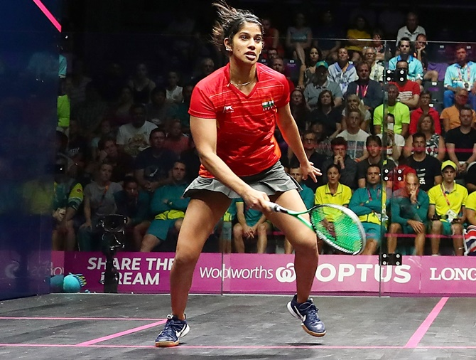 Chinappa advances to quarters as Pallikal, Malhotra exit