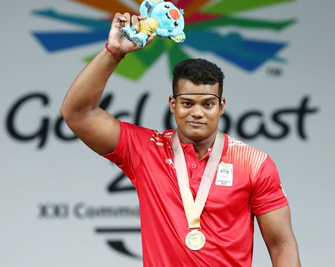 RV Rahul adds 4th gold to India's weightlifting haul at CWG