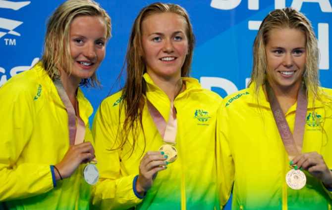 CWG: Australia's Titmus wins women's 800m freestyle