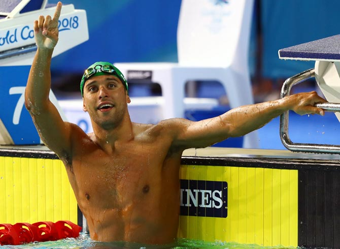 CWG: Le Clos, Van der Burgh lead South Africa's golden haul