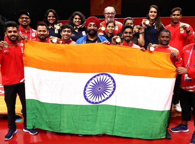 How India fared on Day 5 of CWG 2018