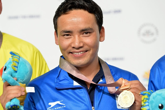 Jitu Rai wins 10m Air Pistol gold, Mitharval bronze