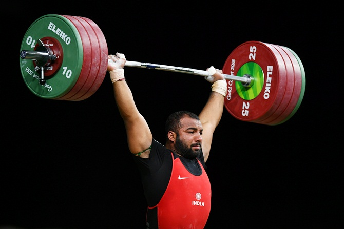 Weightlifter Pardeep misses gold after gallant fight
