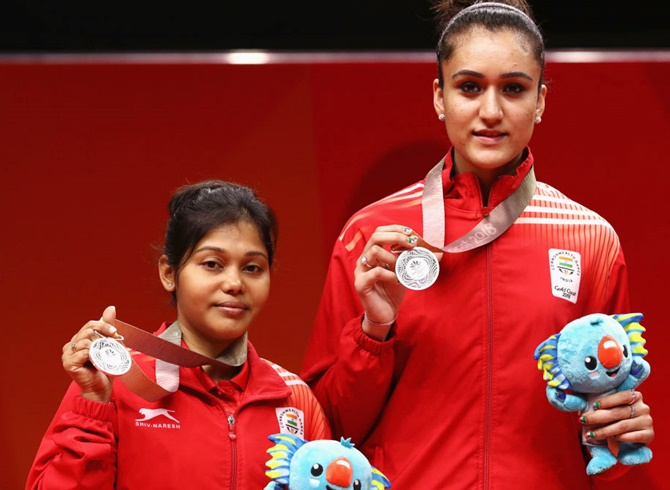 Manika Batra-Mouma Das win maiden women's doubles silver for India
