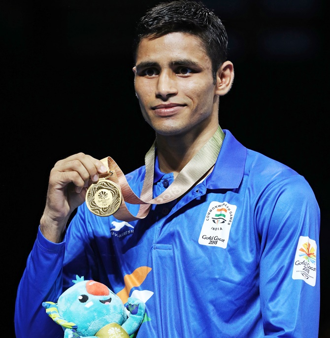 Gaurav, Vikas claim gold; boxers fetch best ever medal haul at CWG