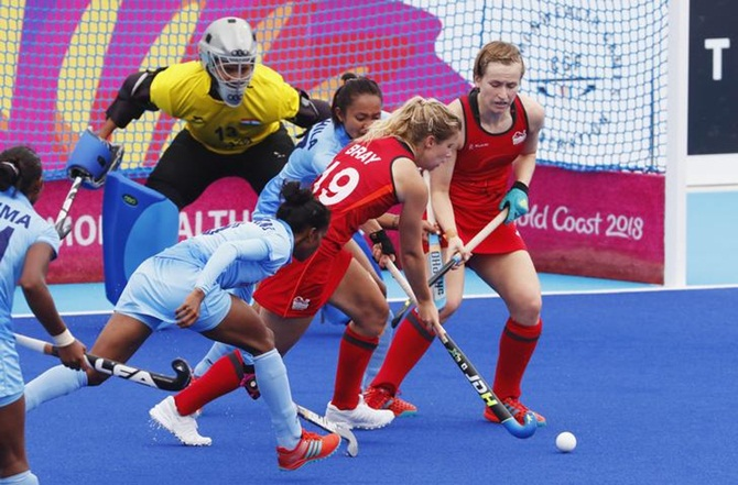 England maul India for women's hockey bronze