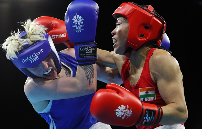 Magnificent Mary claims gold on CWG debut