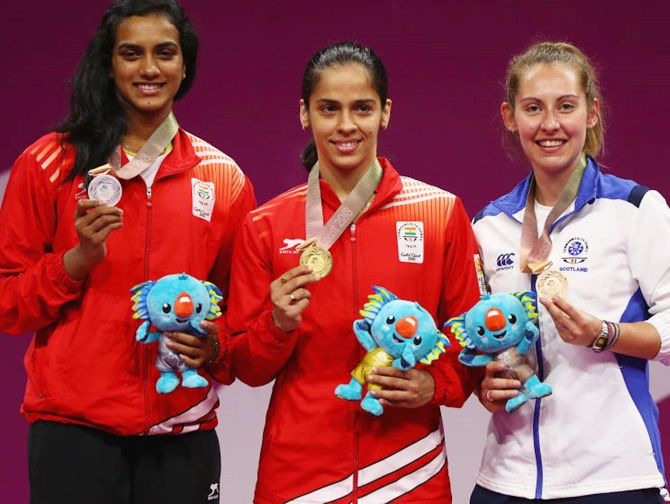 Aggressive Saina clinches women's singles gold in CWG