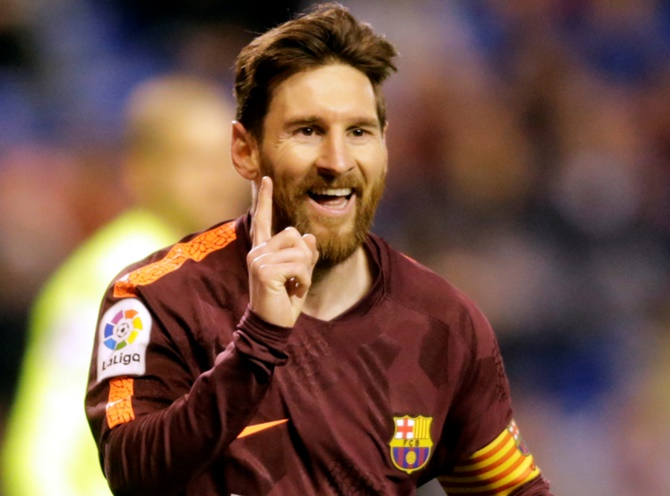 Rediff Sports - Cricket, Indian hockey, Tennis, Football, Chess, Golf - Why Messi needs no award to prove his credibility...