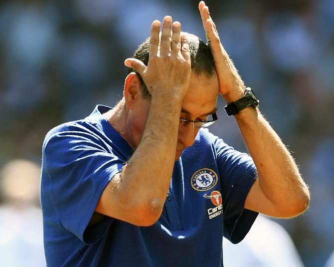 New Chelsea boss Sarri faces tough task in first season
