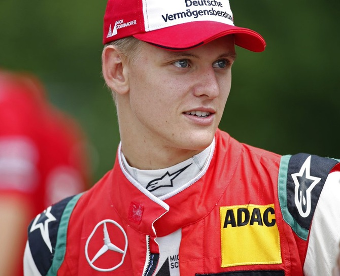 Rediff Sports - Cricket, Indian hockey, Tennis, Football, Chess, Golf - Mick Schumacher on following his legendary father's footsteps