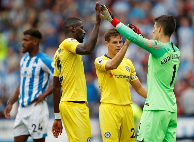 EPL PIX: Chelsea, Spurs begin season with entertaining wins