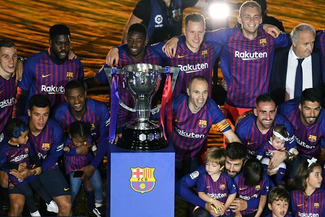 Europe May Be Bigger Priority For Barcelona Rediff Com Sports