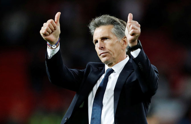 EPL: Manager Puel unfazed by reports of Leicester exit