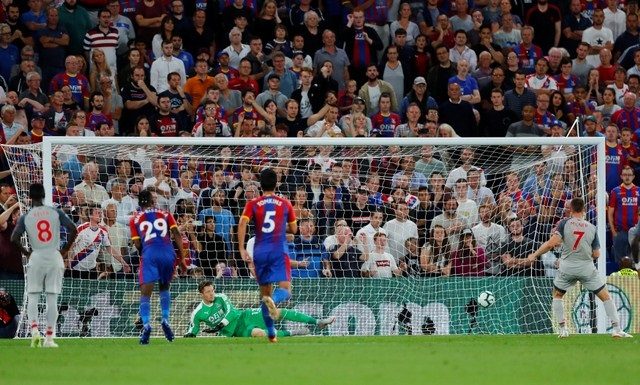 PICS: Milner, Mane give Liverpool victory at Palace