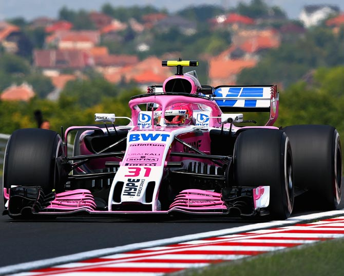 Rediff Sports - Cricket, Indian hockey, Tennis, Football, Chess, Golf - Force India F1 team renamed, stripped of constructors' points