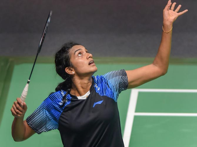 Rediff Sports - Cricket, Indian hockey, Tennis, Football, Chess, Golf - Sindhu to fight for gold; Saina claims bronze at Asian Games