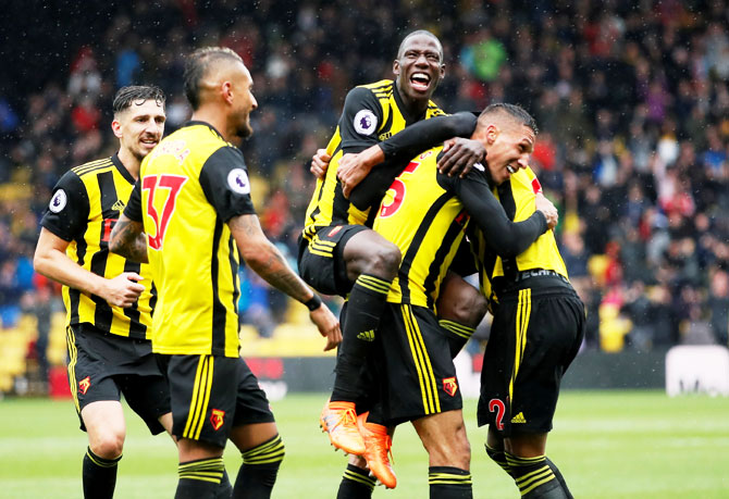 Watford the surprise package in the English Premier League