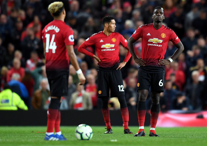 Manchester United will look to bounce back from the Spurs loss on Monday, when they take on Burnley