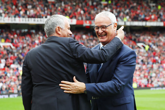 EPL: Ranieri hopes to give friend Mourinho tough time at Old Trafford