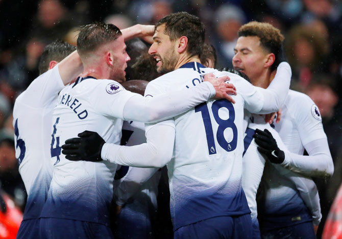 EPL: Eriksen strike gives Spurs last-gasp Burnley win
