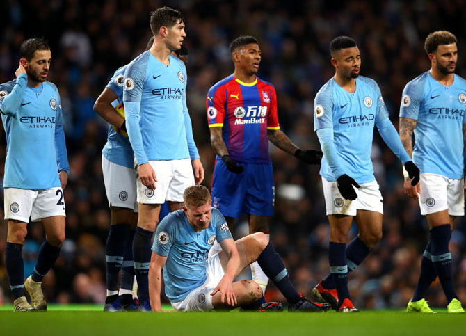 EPL PIX: Man City and Chelsea suffer shock losses; Arsenal win