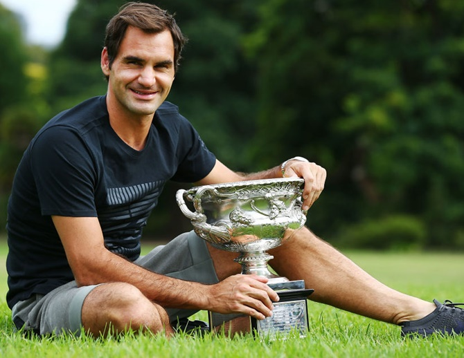 Rediff Sports - Cricket, Indian hockey, Tennis, Football, Chess, Golf - The man behind Federer's success at 36...