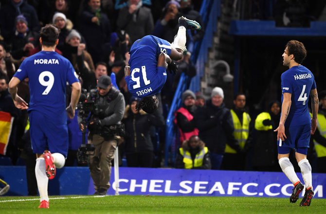 EPL PHOTOS: Chelsea beat West Brom, move back into top four