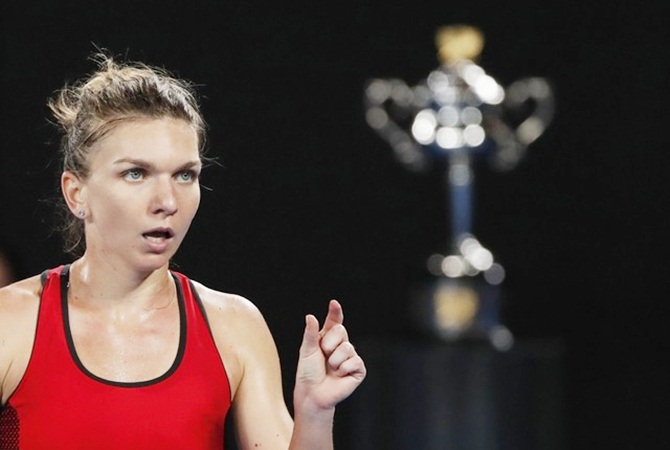 Rediff Sports - Cricket, Indian hockey, Tennis, Football, Chess, Golf - Tennis round-up: Injured Halep pulls out after reaching Qatar semis