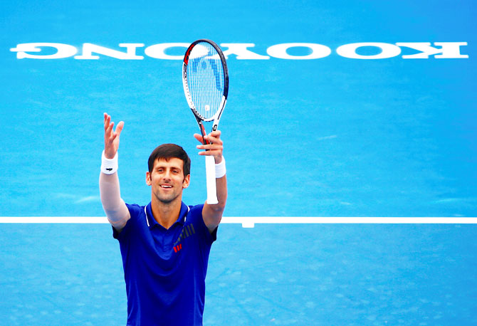 Rediff Sports - Cricket, Indian hockey, Tennis, Football, Chess, Golf - 5 men to watch out for at the Australian Open