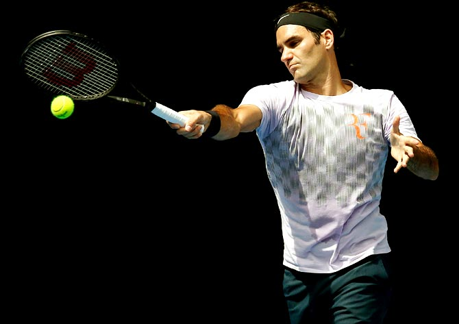 Rediff Sports - Cricket, Indian hockey, Tennis, Football, Chess, Golf - Federer still the man to beat at Melbourne Park