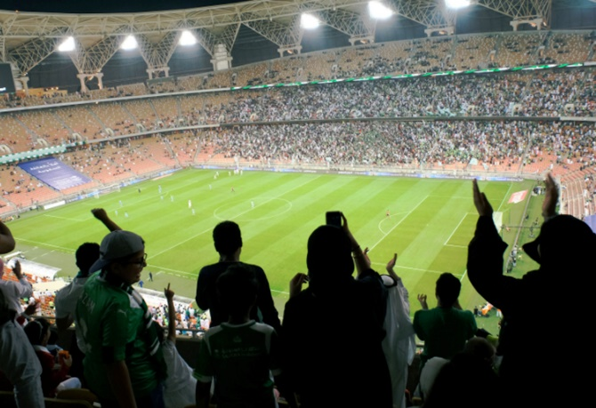 Rediff Sports - Cricket, Indian hockey, Tennis, Football, Chess, Golf - Football Briefs: Saudi women score right to watch men's matches in stadiums
