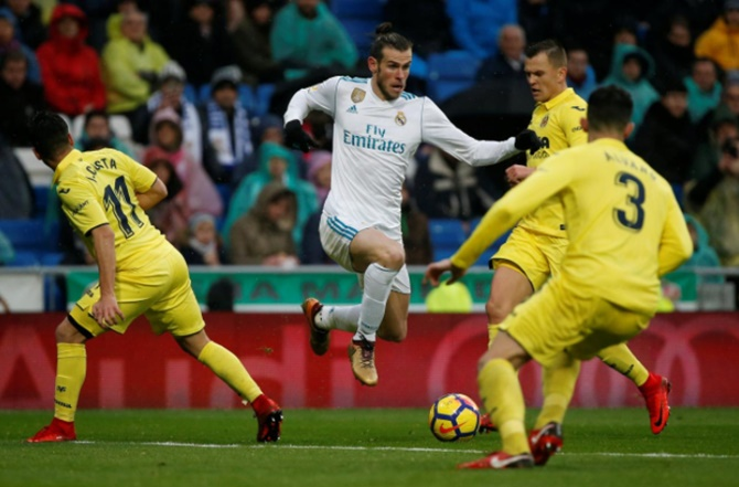 Rediff Sports - Cricket, Indian hockey, Tennis, Football, Chess, Golf - La Liga: Madrid crisis deepens with defeat by Villarreal, Atletico and Valencia win