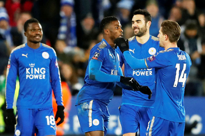 Rediff Sports - Cricket, Indian hockey, Tennis, Football, Chess, Golf - Football Briefs: Leicester through to FA Cup fourth round