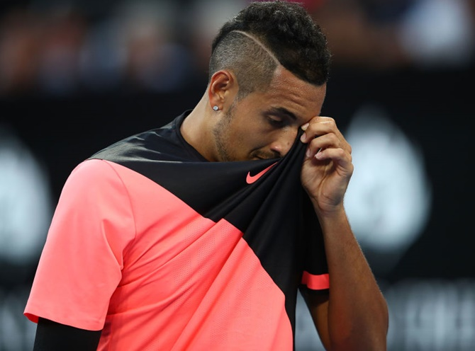 Rediff Sports - Cricket, Indian hockey, Tennis, Football, Chess, Golf - Will Rod Laver slot freeze Kyrgios?
