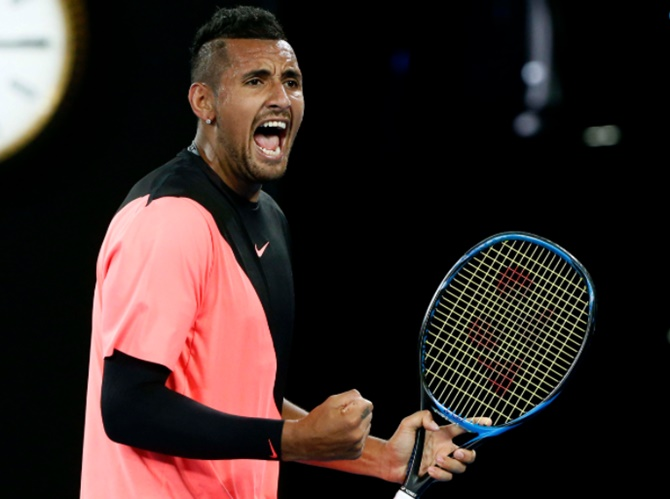 Rediff Sports - Cricket, Indian hockey, Tennis, Football, Chess, Golf - Kyrgios, Australia's new ace carrying the hopes of a nation