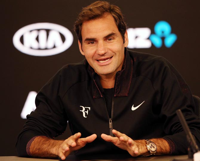 Having the option of getting to number one is highly motivating and very exciting to say the least, says Roger Federer