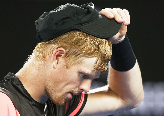 Kyle Edmund was run ragged in the semi-final
