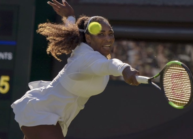 Serena Williams was bumped up to 25th seed and has fully vindicated that decision, winning all six sets she has played