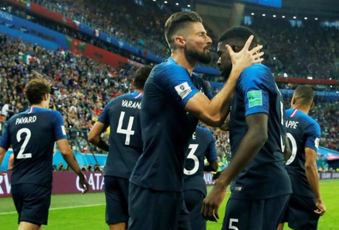 Rediff Sports - Cricket, Indian hockey, Tennis, Football, Chess, Golf - France peaking perfectly as they head to World Cup final