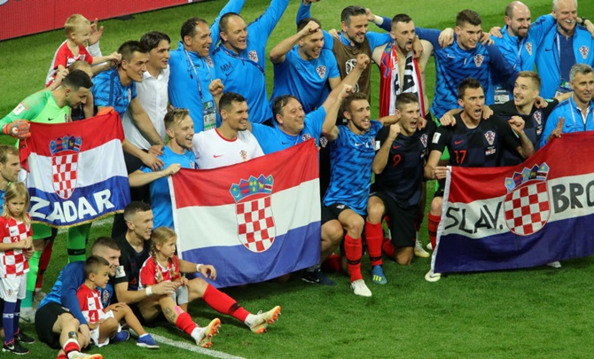 Rediff Sports - Cricket, Indian hockey, Tennis, Football, Chess, Golf - France-Croatia final confirms Europe's World Cup dominance